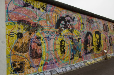 Eastside Gallery - Berlin - Kunst & Mahnmal