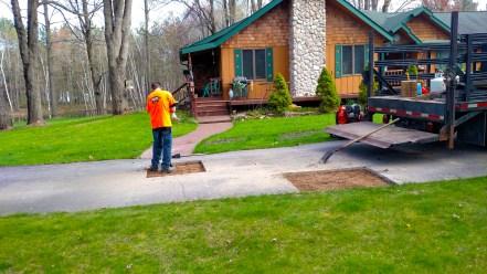 Driveway Restoration in Traverse City, Michigan Asphalt Restoration and Asphalt Sealcoating