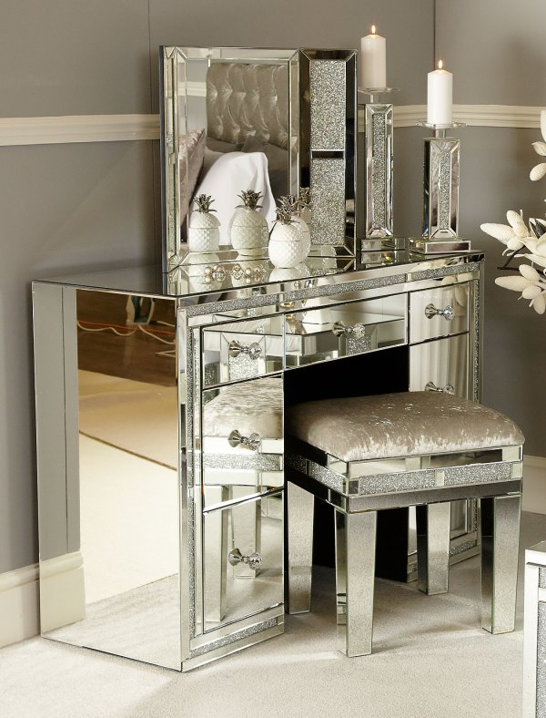 Diamond Glitz Vanity Dressing Table Mirror