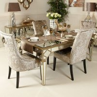 Awesome Mirrored Dining Room Tables Photos - Liltigertoo ...