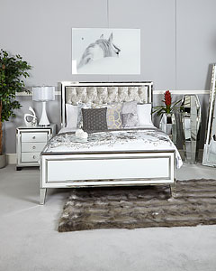 mirrored bedroom furniture picture