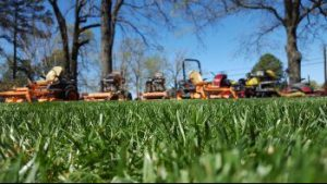 Harpers Mill Lawn Aeration Seeding Fertilization by Picture Perfect Lawn Maintenance   (804) 530-2540   Quality Commercial and Residential Lawn Care