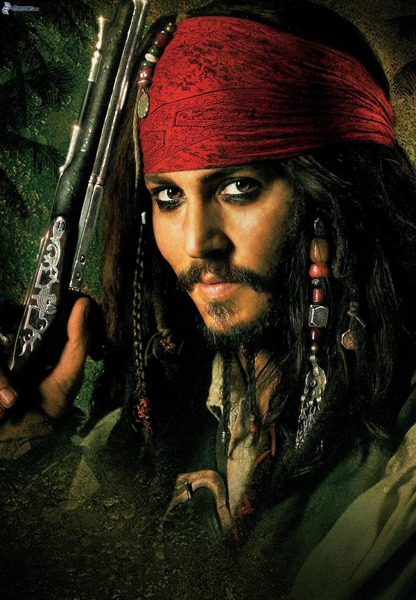 Johnny Depp Pirates of the Caribbean Jack Sparrow
