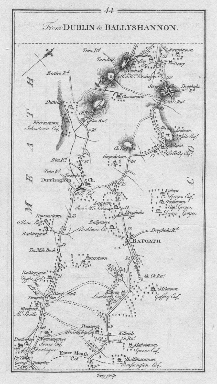 1778 Ireland Dublin Ratoath Dunshaughlim Abbotstown etc