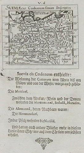Sueviæ cis Codanum simum Descriptio. by MULLER, Johann