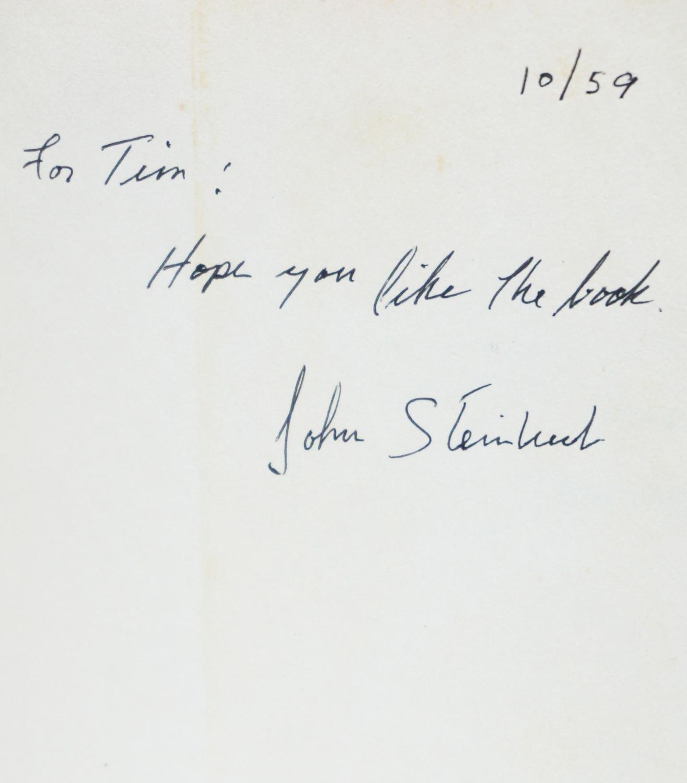 Sweet Thursday by John Steinbeck: The Viking Press