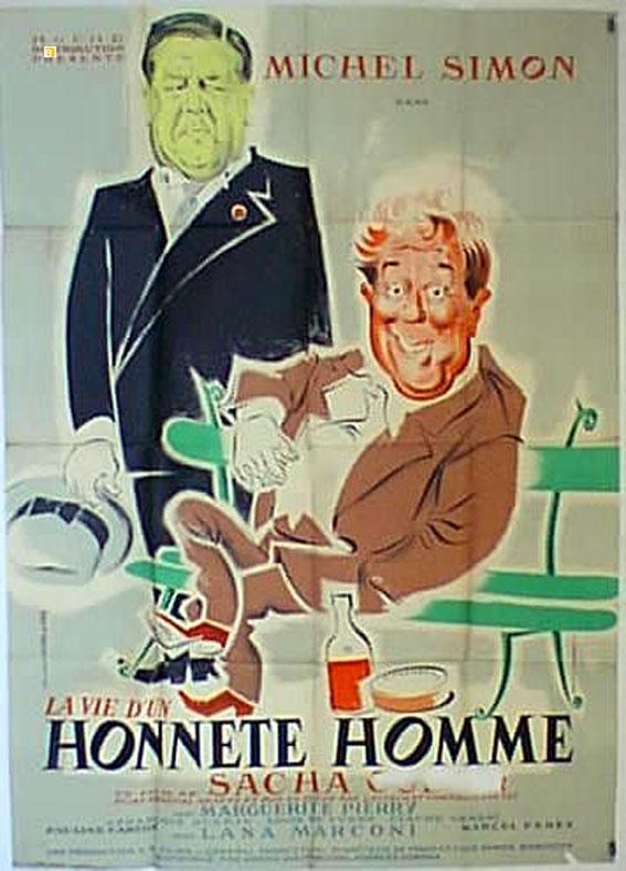 La Vie D'un Honnête Homme : honnête, homme, HONNETE, HOMME, MOVIE, POSTER/VIE, HOMME,, LA/POSTER, ViaLibri