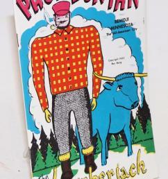 paul bunyan the giant lumberjack bang ray [ 891 x 1500 Pixel ]