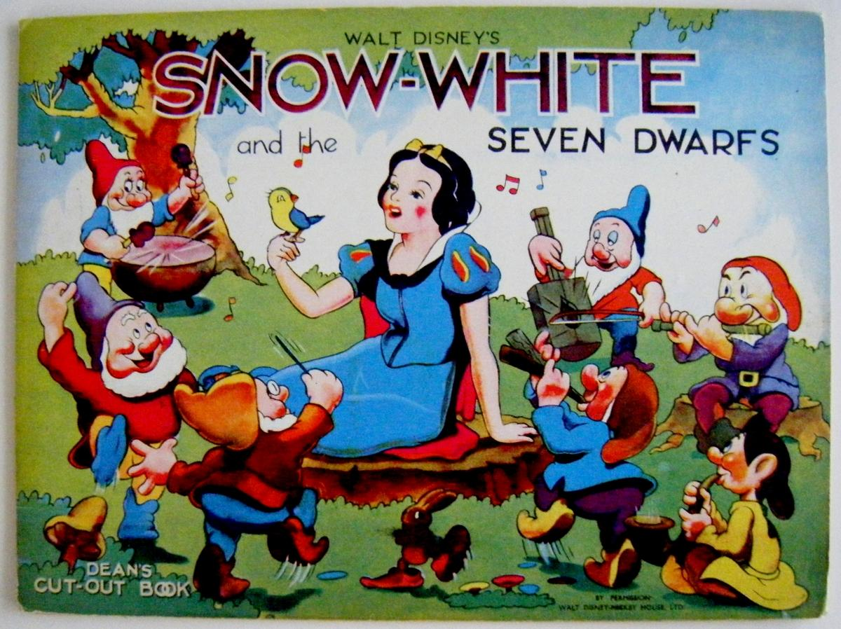 Snow White And The Seven Dwarfs Dean S Cut Out Book By