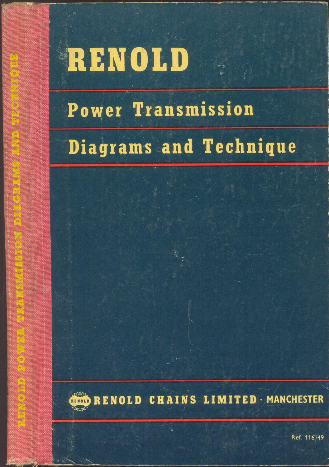 hight resolution of renold power transmission diagrams and technique