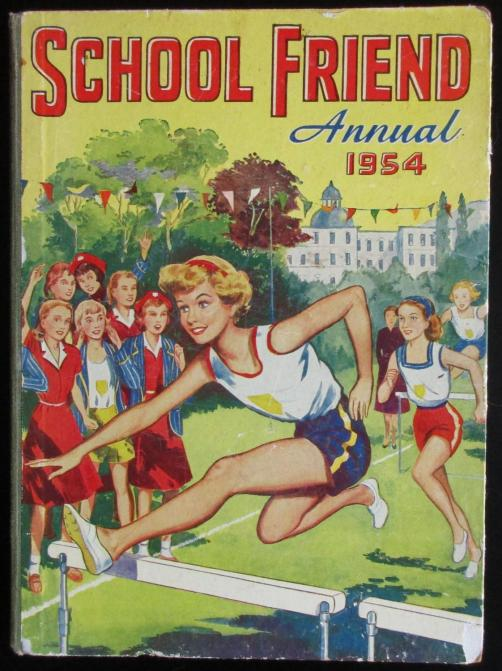 School Friend Annual 1954 by various: Good Hardcover (1954) | Raffles Bookstore