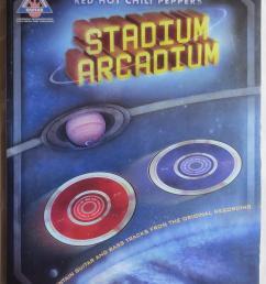 red hot chili peppers stadium arcadium guitar edition billmann pete red hot [ 1054 x 1391 Pixel ]