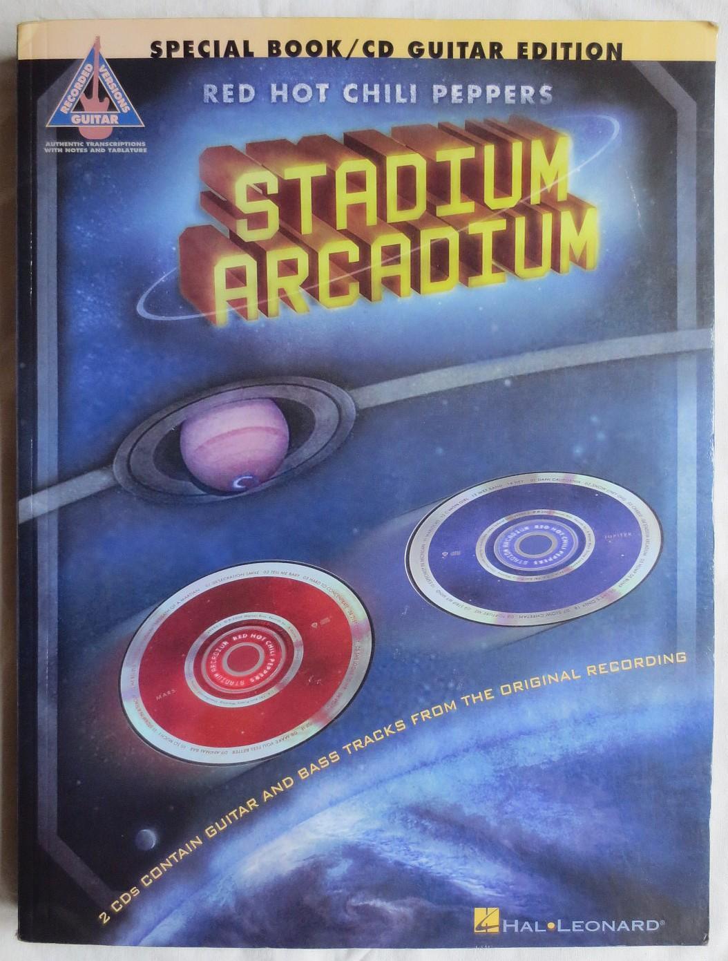 hight resolution of red hot chili peppers stadium arcadium guitar edition billmann pete red hot