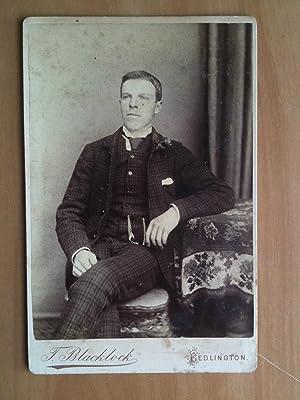 Original Photography T. Blacklock Bedlington Vulcan Place England mid '800