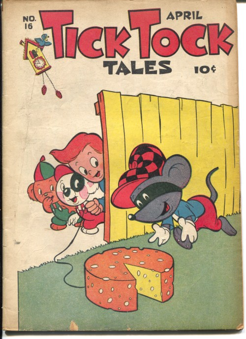 small resolution of tick tock tales 16 1947 me prank cover tom tom