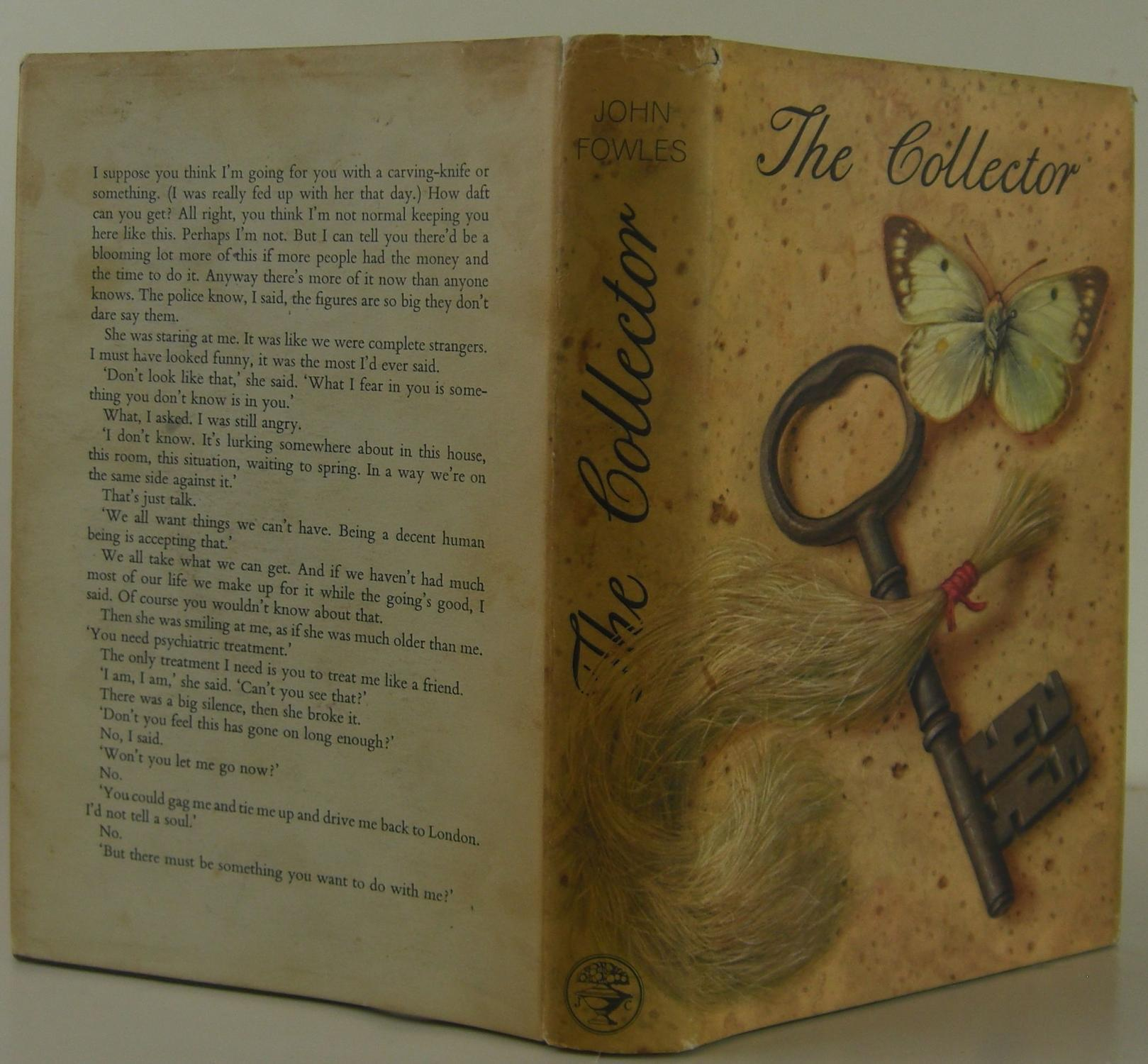 The Collector by Fowles. John: Jonathan Cape Hardcover. 1st Edition. - Bookbid