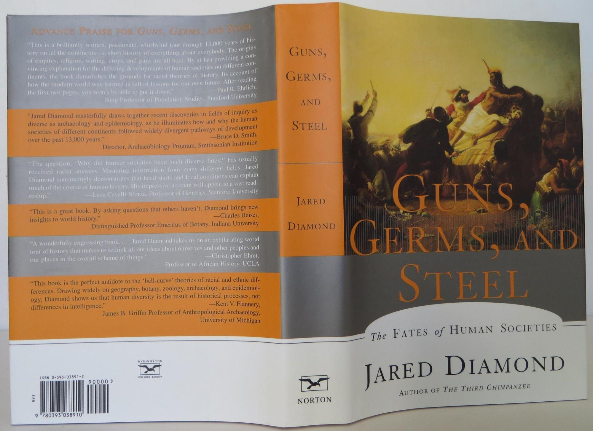 Guns Germs And Steel The Fates Of Human Societies By