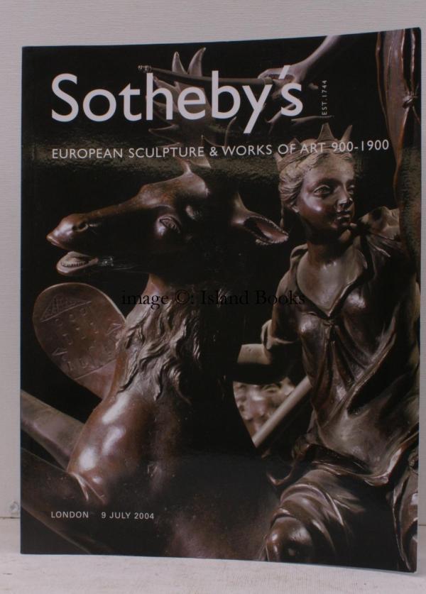 Catalogue Of European Sculpture & Works Art 900