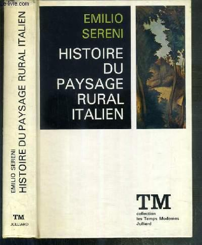 EMILIO SERENI STORIA DEL PAESAGGIO AGRARIO ITALIANO PDF
