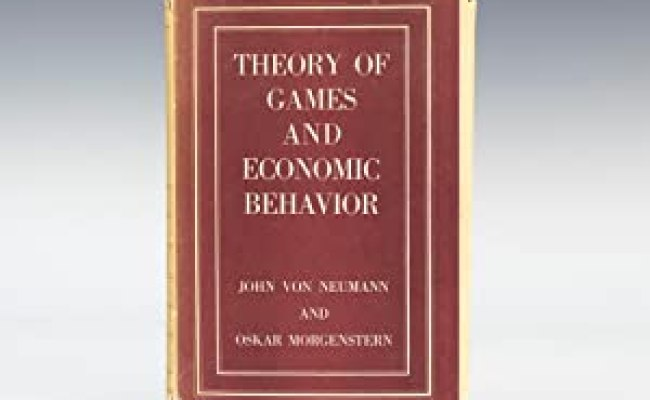 Theory Games Economic Behavior First Edition Abebooks