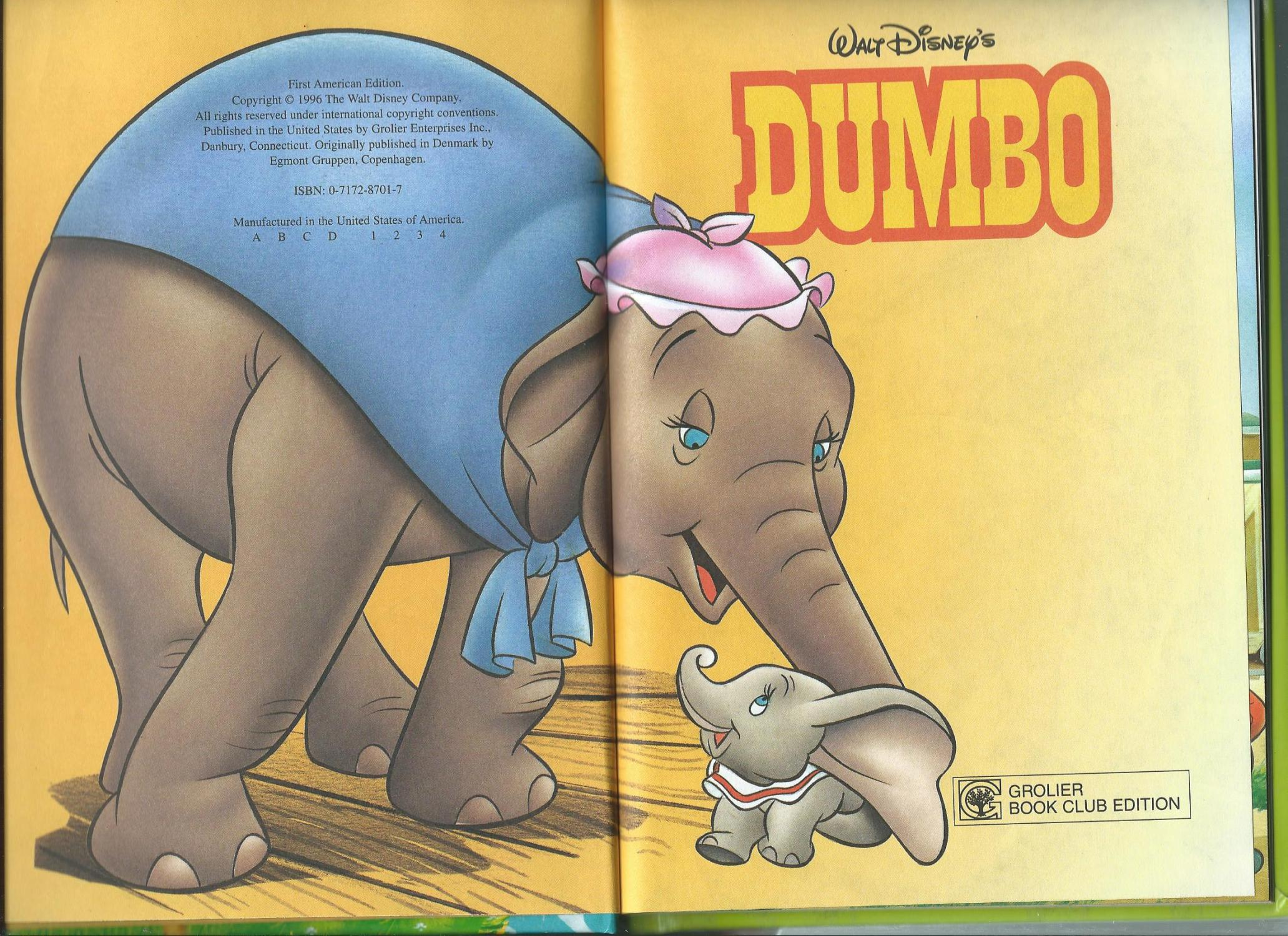 Dumbo Disney S Wonderful World Of Reading By Walt Disney