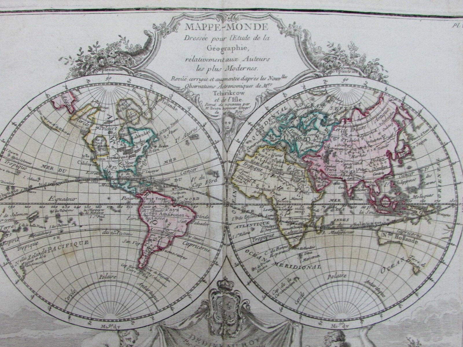 World Spheres Map Continents Atlas Med De L Ouest