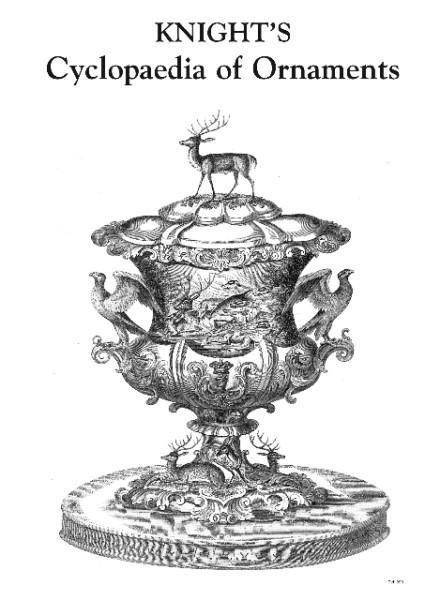 KNIGHTS ENCYCLOPAEDIA OF ORNAMENT. by Knight.: Sessay