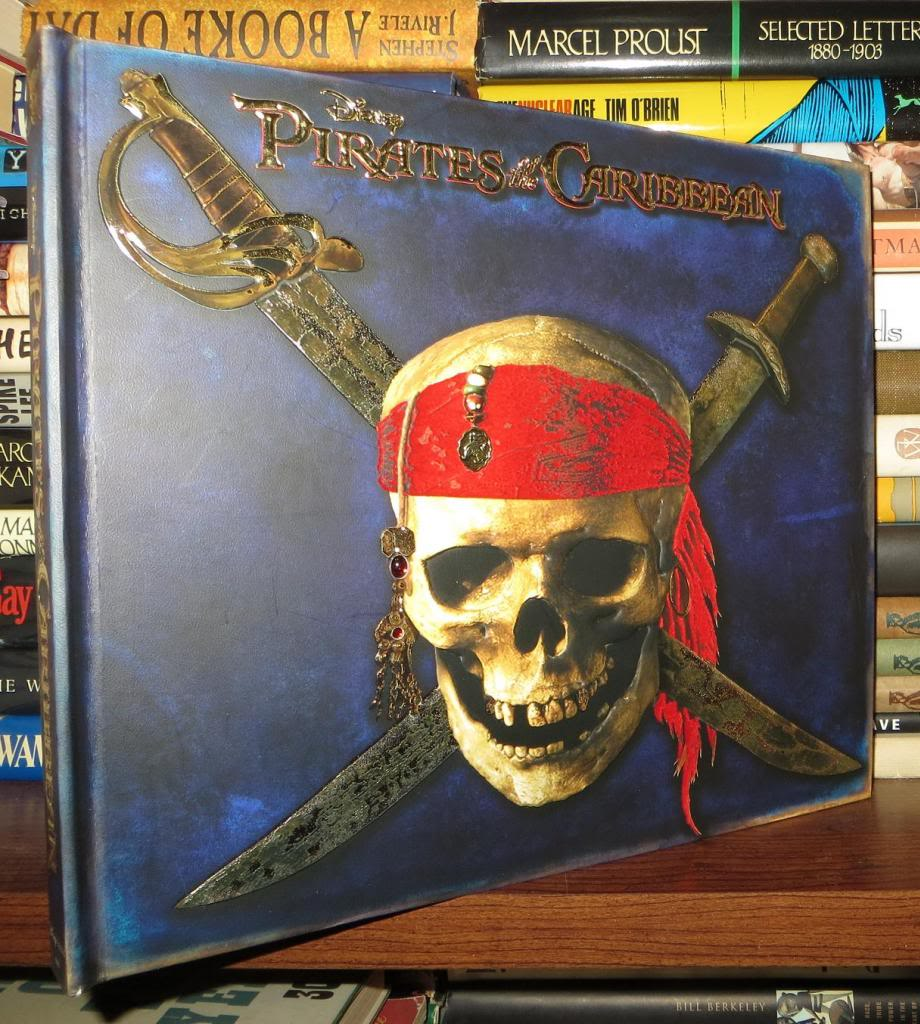 DISNEY PIRATES OF THE CARIBBEAN The Secret Files of the East India Trading Company by Faye. Thomas: Hardcover (2007) First Edition; First Printing ...