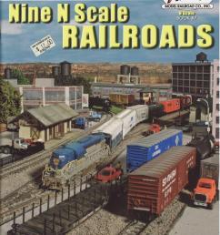 nine n scale railroads 9 n scale layout plans for the intermediate modeler not [ 1140 x 1500 Pixel ]