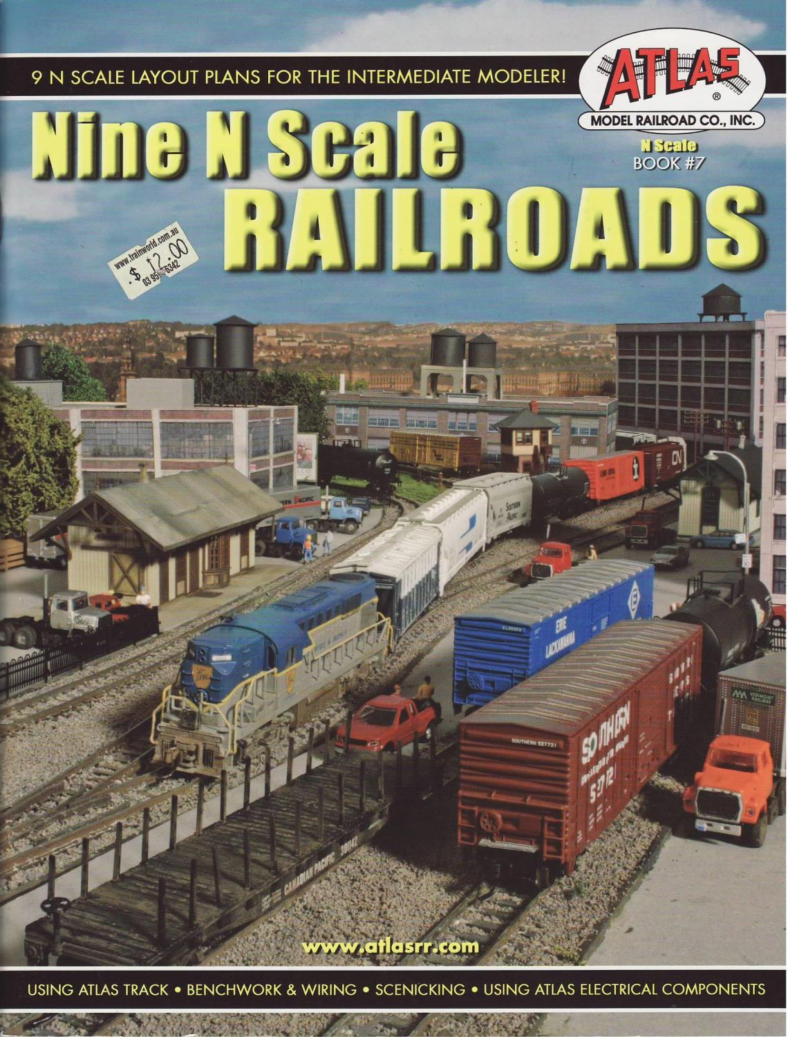 hight resolution of nine n scale railroads 9 n scale layout plans for the intermediate modeler not