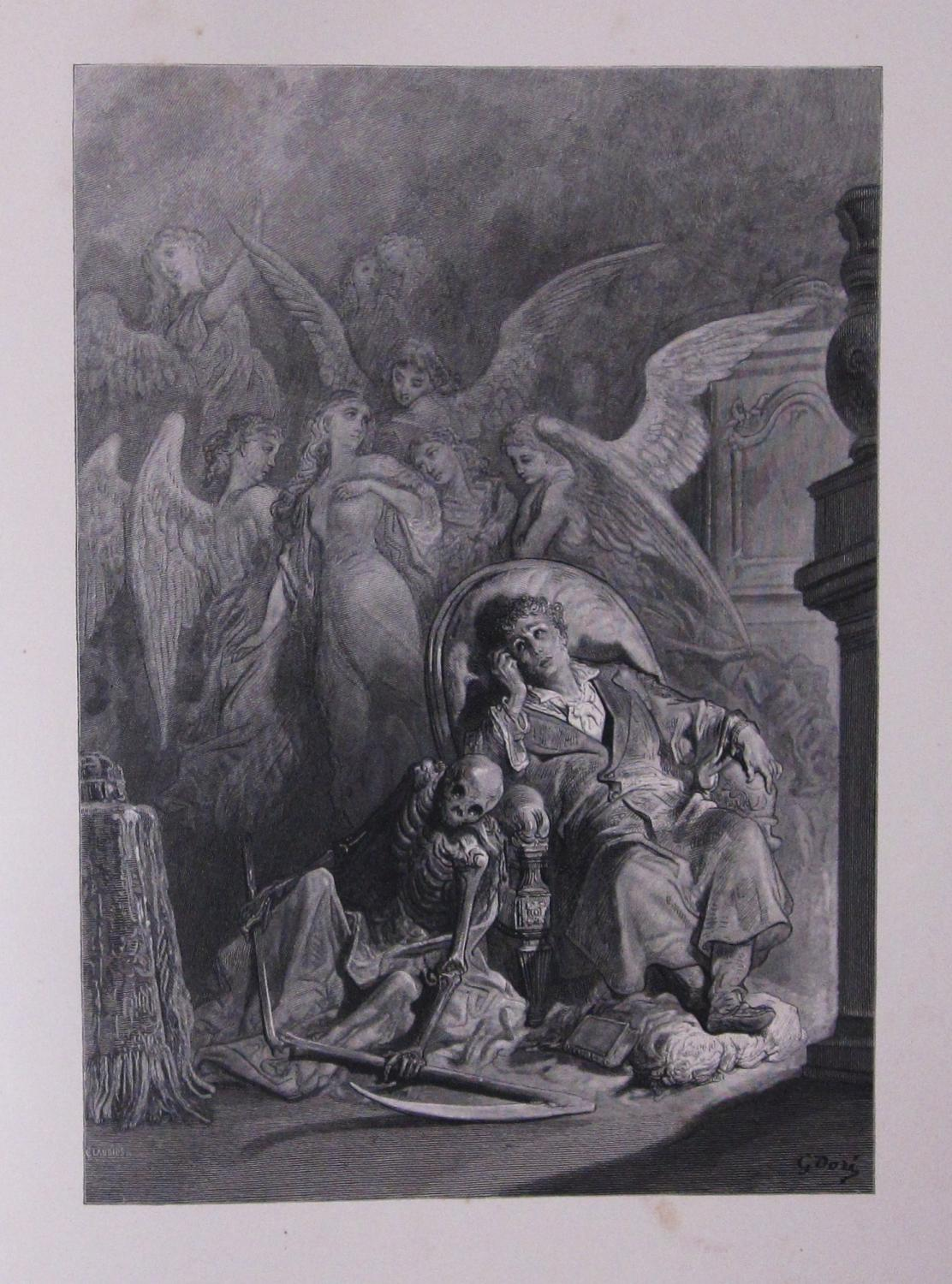 The Raven Illustrated By Gustave Dore By Poe Edgar Allan