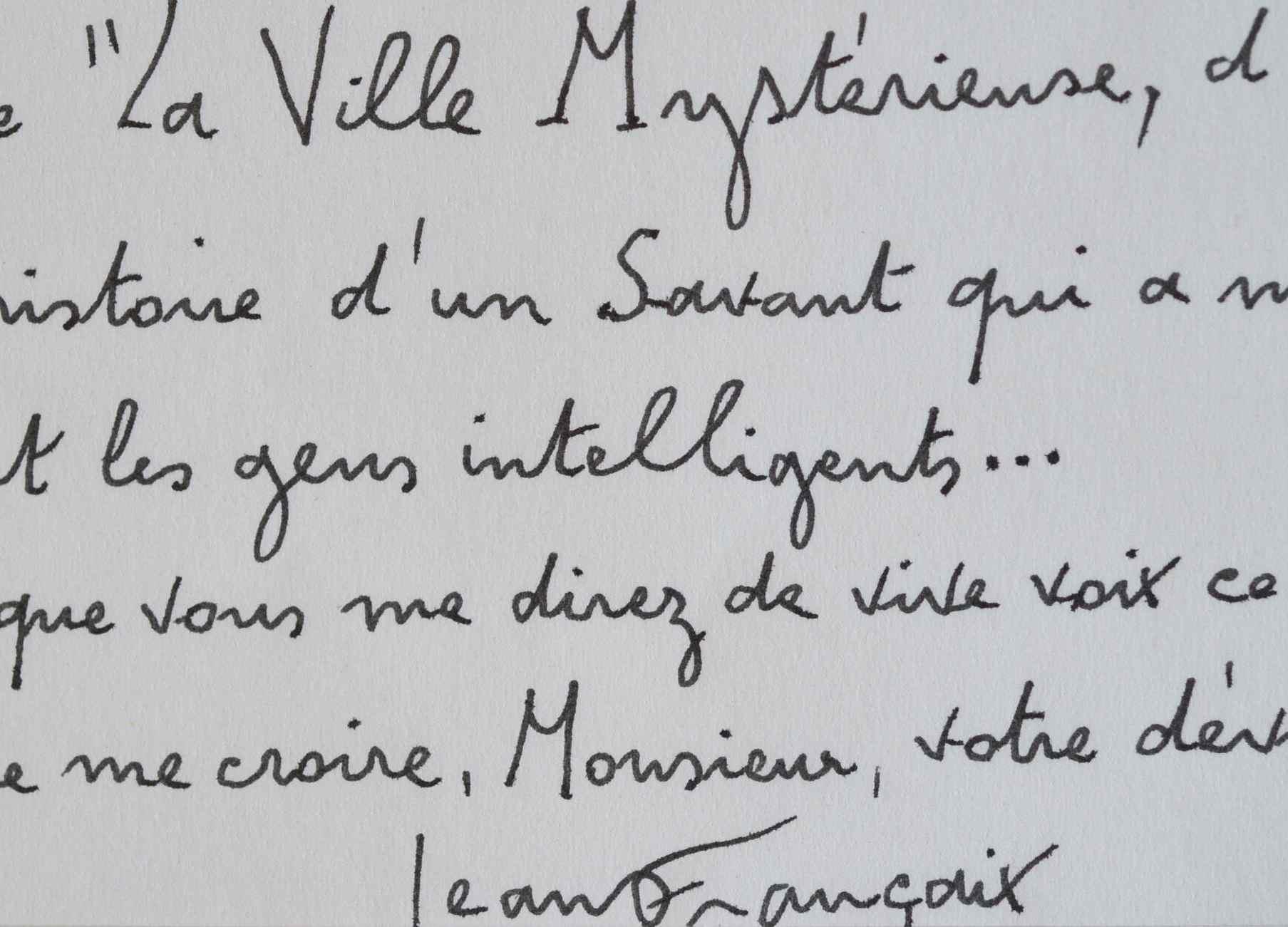 Jean Francaix Fait Executer Son Poeme Symphonique La Ville