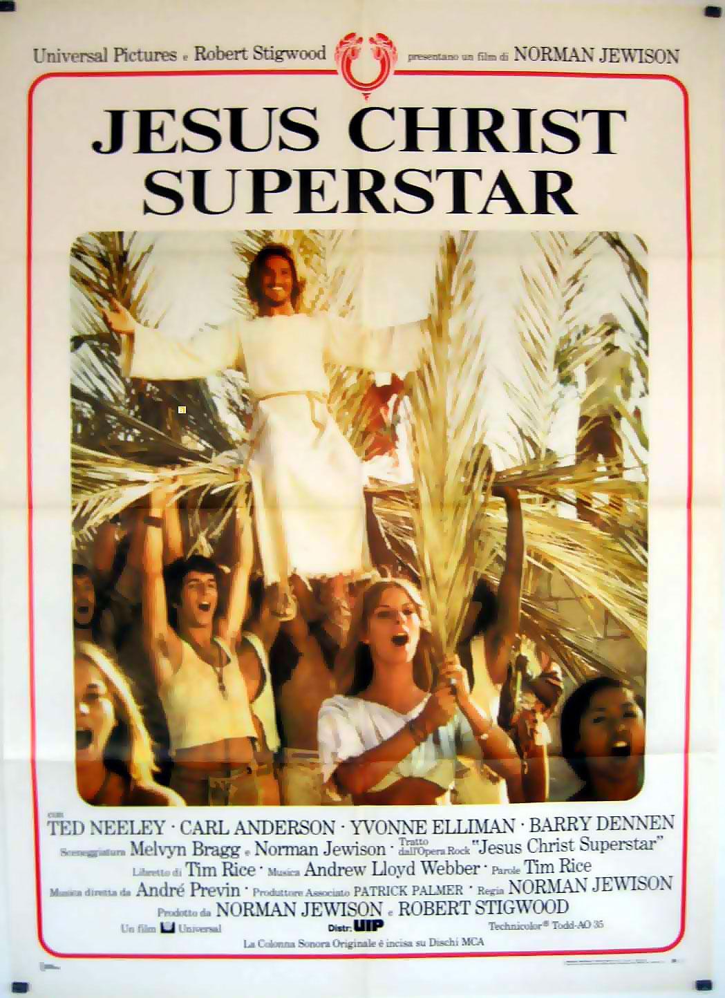 jesus christ superstar 1973dir norman