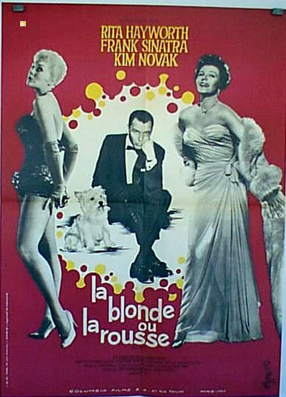 La blonde ou la rousse: Amazon.fr: Frank Sinatra, Rita