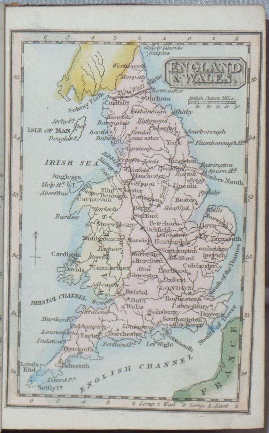 Litchfield By The Sea Map : litchfield, Panorama:, Traveller's, Instructive, Guide;, Through, England, Wales, Exhibiting, Direct, Principal, Cross, Roads,, Cities,, Towns,, Villages,, Parks,, Canals,, Accompanied, Description, County
