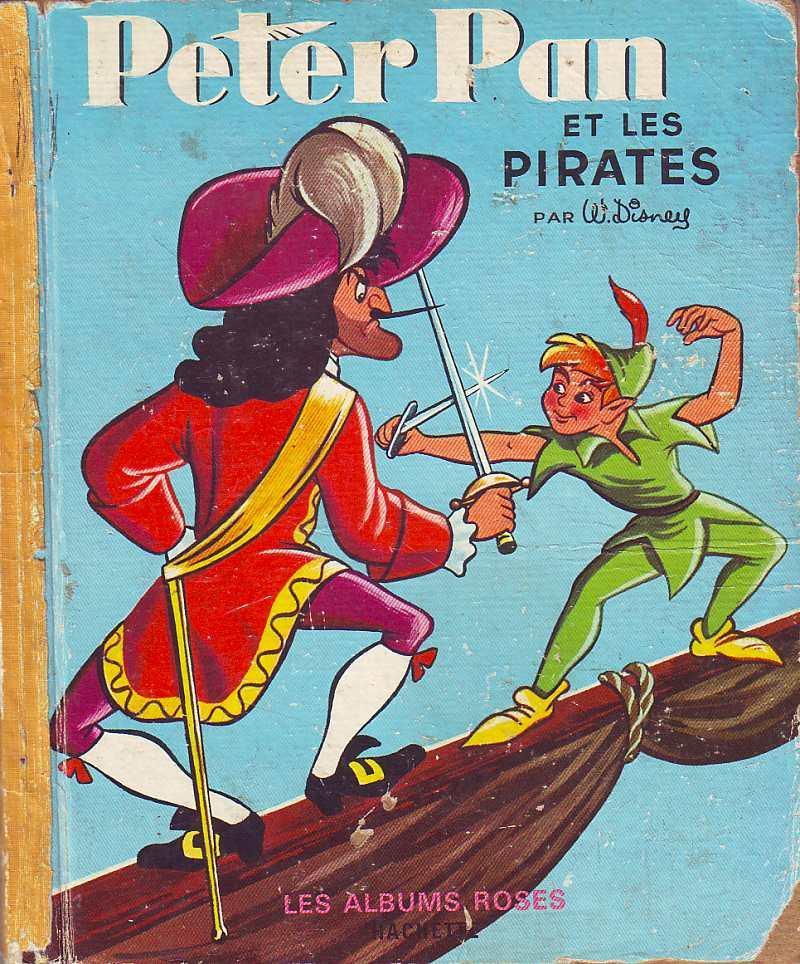 Peter Pan Et Les Pirates : peter, pirates, Peter, Pirates, DISNEY:, état, Toilé, Cartonné, (1954), Petit, Livraire