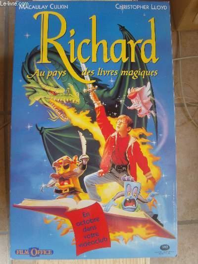 Richard Et Les Livres Magiques : richard, livres, magiques, Affiche,