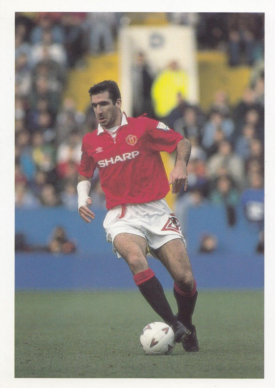 """""""only accidents, crimes, wars, will still kill us but unfortunately, crimes, wars, will multiply. Eric Cantona French France International Football Striker Postcard Manuscript Nbsp Nbsp Paper Nbsp Collectible Postcard Finder"""