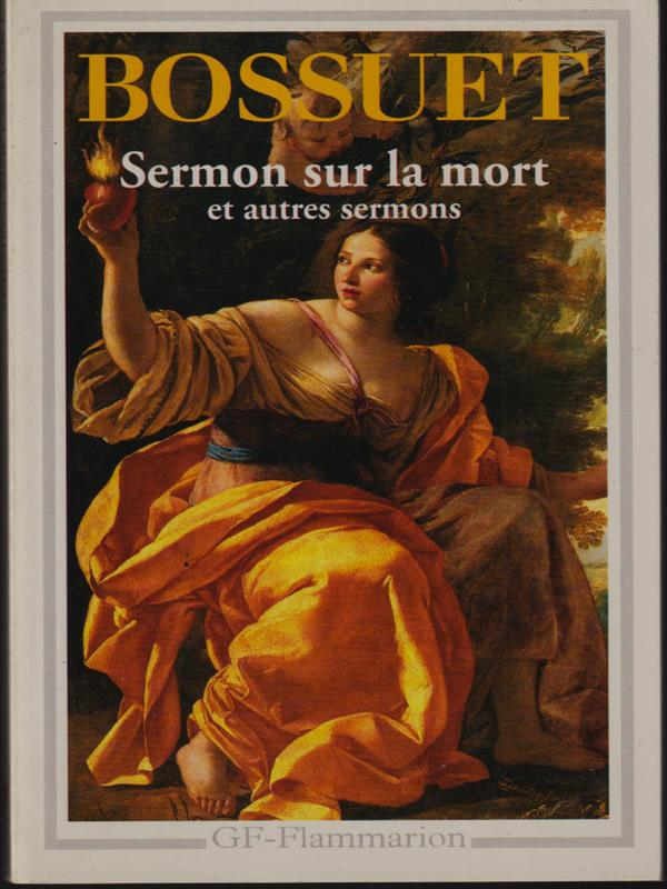 Sermon Sur La Mort Bossuet : sermon, bossuet, Bossuet, Sermon, AbeBooks