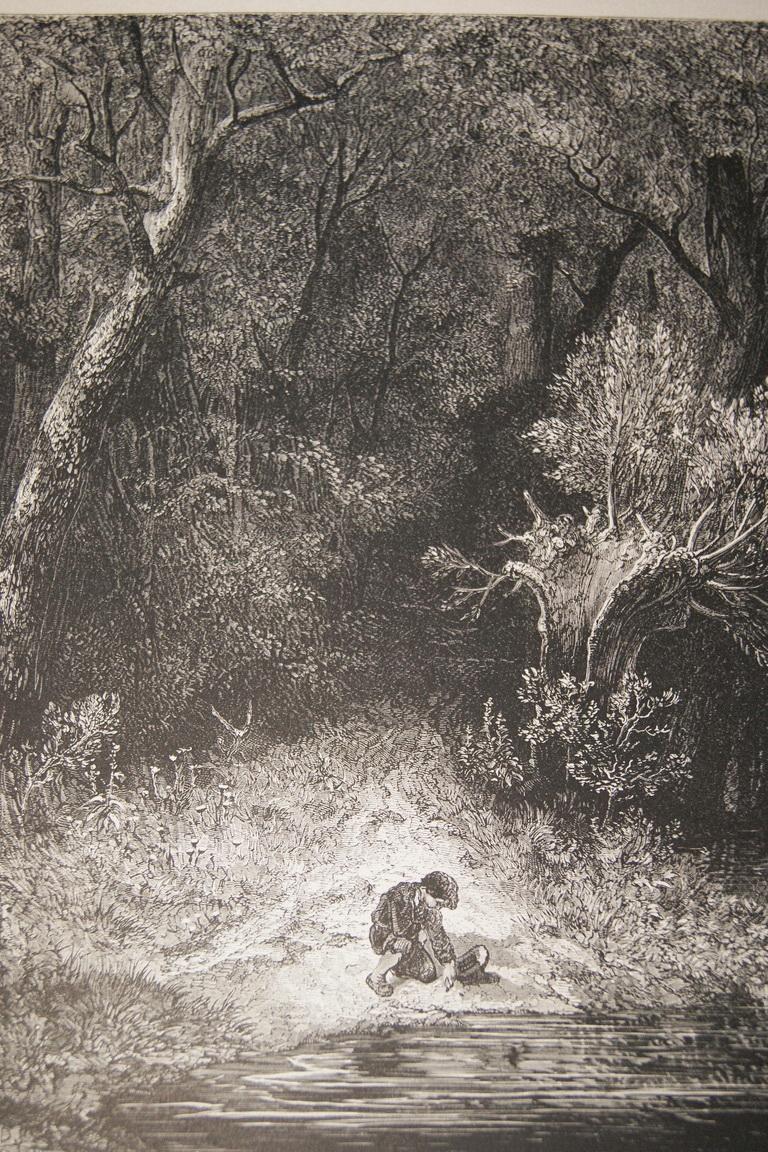 Gustave Doré Le Petit Poucet : gustave, doré, petit, poucet, GUSTAVE, PETIT, POUCET, GRAVURE, PAPIER, MARAIS, R3121, PRINT, DORE:, (1862), Art/Print/Poster, Librairie