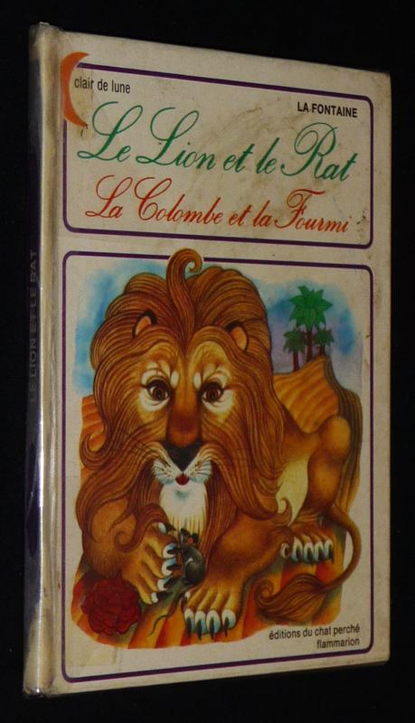 Le Lion Et Le Rat La Fontaine : fontaine, Colombe, Fourmi, Fontaine, Inconnu, (1978), Abraxas-libris