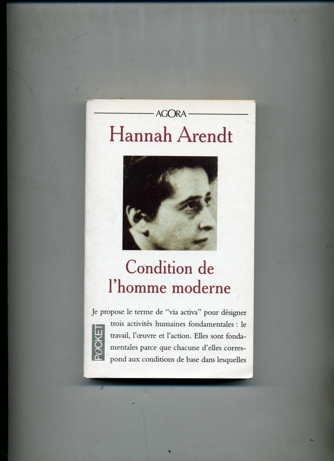 Arendt Condition De L'homme Moderne : arendt, condition, l'homme, moderne, Arendt, Condition, Homme, Moderne, AbeBooks