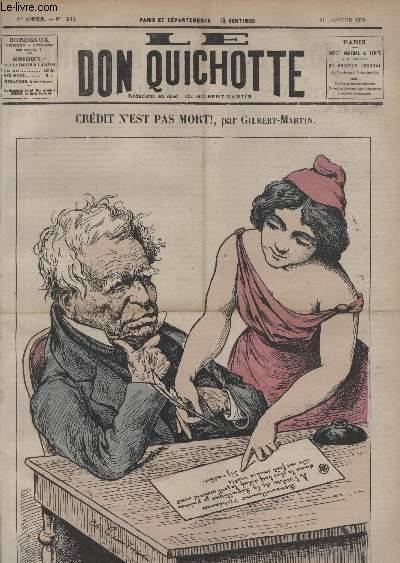 Voler N'est Pas Bon : voler, n'est, Quichotte, N241,, Crdit, Mort!, GILBERT-MARTIN:, Couverture, Souple, (1879