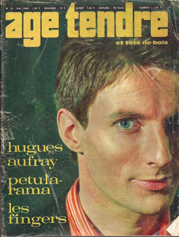 Age Tendre Et Tête De Bois : tendre, tête, Tendre, Tête, 1964., Couverture, Hugues, Aufray., Collectif:, Moyen, Souple, (1964), Librairie, Hervé, Sciardet