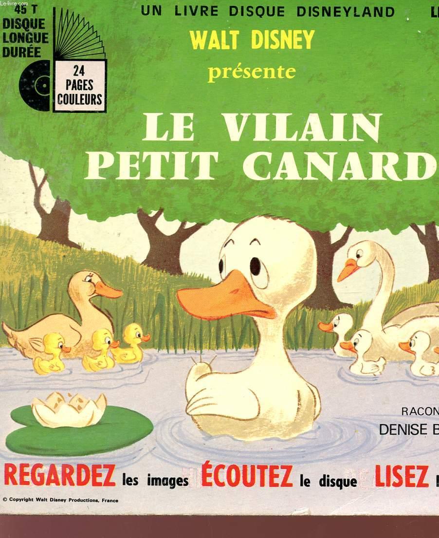 Le Vilain Petit Canard Disney : vilain, petit, canard, disney, VILAIN, PETIT, CANARD, LIVRE, DISQUE, DISNEYLAND, LONGUE, DUREE, REGARDEZ, IMAGES, ECOUTEZ, LISEZ, LIVRE., BENOIT, DENISE:, Couverture, Souple, (1971), Le-Livre