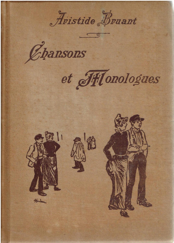 Chanson Sur Le Manque Et L'absence : chanson, manque, l'absence, Bruant, Aristide, First, Edition, AbeBooks