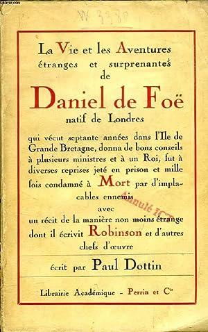 Qui A écrit Robinson Crusoé : écrit, robinson, crusoé, AVENTURES, DANIEL, AUTEUR, ROBINSON, CRUSOE, DOTTIN, PAUL:, Couverture, Souple, (1925), Le-Livre