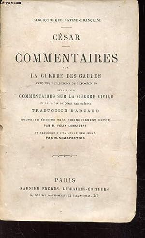 Commentaires Sur La Guerre Des Gaules : commentaires, guerre, gaules, Commentaires, Cesar, AbeBooks