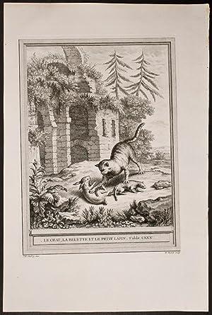 """Roger Carel """"Le chat, la belette et le petit lapin"""