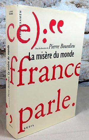 Bourdieu La Misère Du Monde : bourdieu, misère, monde, Pierre, Bourdieu, Misère, Monde, AbeBooks